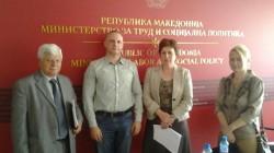 Презентација во Министерството за труд и социјална политика за сивата економија во РМ