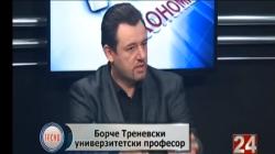 """Д-р Борче Треновски гостин во емсијата Тренд на ТВ: """"24 Вести"""""""