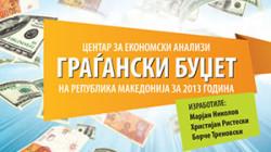 Граѓански Буџет на РМ за 2013 година