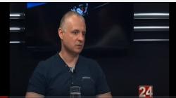 """Д-р Марјан Николов ЦЕА,  гостин во емсијата Тренд на ТВ: """"24 Вести"""""""
