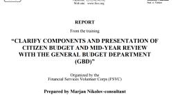 Oбуката на Министерството за финансии и Сектор буџет на Јордан