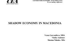 ЦЕА студија за сивата економија во Македонија