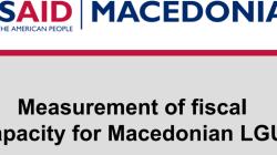 Мерење на фискален капацитет на 15 македонски ЕЛС