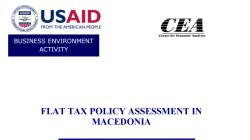 Оценка на политиката на рамен данок во Република Македонија