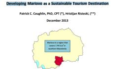 Развивање на Мариово како одржлива туристичка дестинација