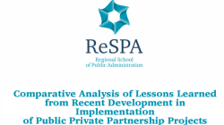Comparative Analysis of Lessons Learned from Recent Development in Implementation of Public Private Partnership Projects in the Western Balkan Region