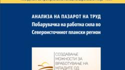 АНАЛИЗА НА ПАЗАРОТ НА ТРУД Побарувачка на работна сила во Североисточниот плански регион