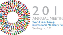 Report from the Annual World Bank and IMF meeting 2013