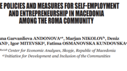 The policies and measures for self-employment and entrepreneurship in Macedonia among the Roma community