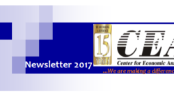 Center for Economic Analyses, Newsletter 2017