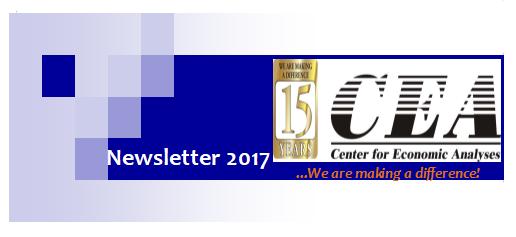 Center for Economic Analyses, Newsletter 2017