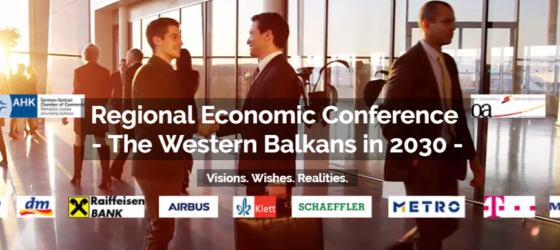 Regional Economic Conference  – The Western Balkans in 2030