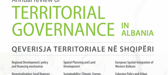 New Publication: Annual Review of Territorial Governance in Albania
