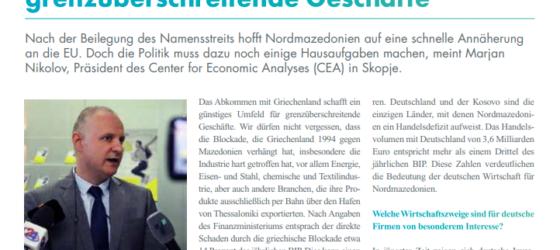 Интервју на Марјан Николов за OST EUROPA Informationen