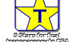 CEA continues with 5 stars for financial transparency
